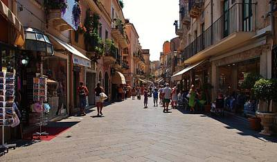 Photograph - Taormina City by Dany Lison