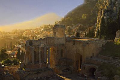 Taormina Magna Graecia Original by William Fields