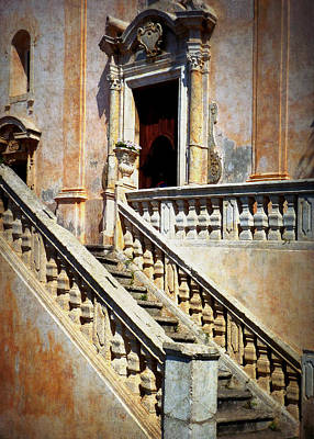 Photograph - Taormina Staircase by Carla Parris