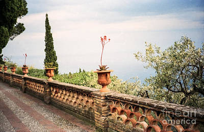 Photograph - Taormina Vista by Suzanne Luft