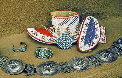 Concho Belt Photograph - Taos Arts by Buddy Mays