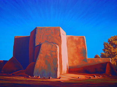 Painting - Taos by Cheryl Fecht