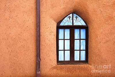 Taos Church 2 Art Print by Kathlene Pizzoferrato
