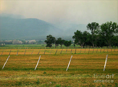 Photograph - Taos Fields by Steven Ralser