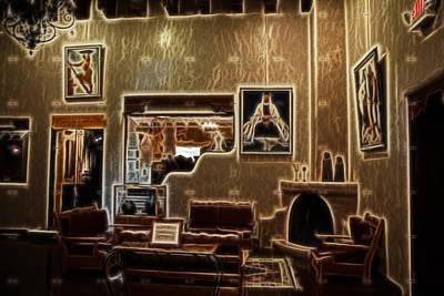 Digital Art - Taos Lobby by Kathleen Stephens