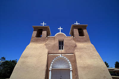 Photograph - Taos Mission by Rich Franco