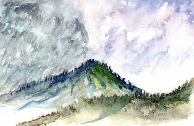 Painting - Taos Mountain by Ashley Kujan