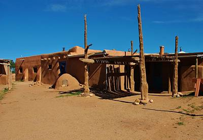 Photograph - Taos Pueblo - 3 by Dany Lison