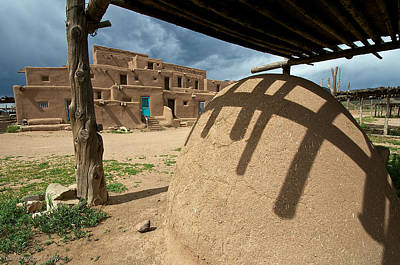 Photograph - Taos Pueblo by Britt Runyon