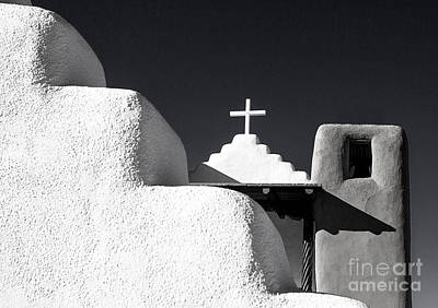 Photograph - Taos Pueblo Chapel by Diane Enright