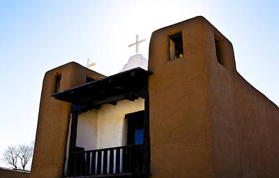 Photograph - Taos Pueblo Church 2 by Marilyn Hunt