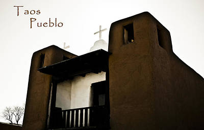 Photograph - Taos Pueblo Church by Marilyn Hunt
