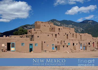 Photograph - Taos Pueblo by Heidi Hermes