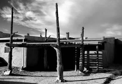 Photograph - Taos Pueblo Study 2 by Robert Meyers-Lussier