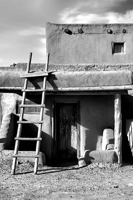 Photograph - Taos Pueblo Study 6 by Robert Meyers-Lussier