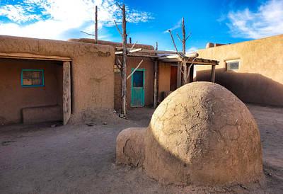 Vintage Chevrolet - Taos Pueblo Study 7 by Robert Meyers-Lussier