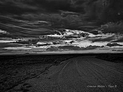 Photograph - Taos Sunset Xxvii by Charles Muhle