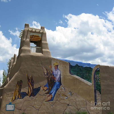 Taos Wall Art Art Print by Patricia Januszkiewicz