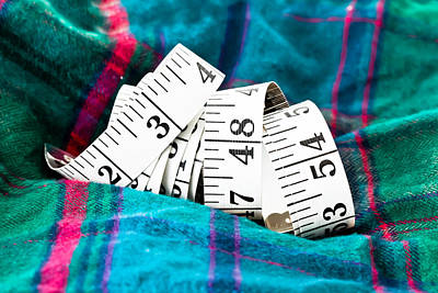 Tape Measure Art Print