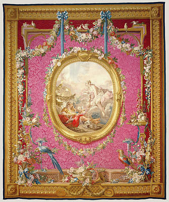 1781 Painting - Tapestry Laurore Et Céphale, From Les Tentures De by Litz Collection