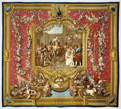 Tapestry Lentrée De Sancho Dans Lile De Barataria Art Print by Litz Collection