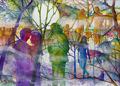 Emotion Mixed Media - Tapestry Of Memories by Patricia Allingham Carlson