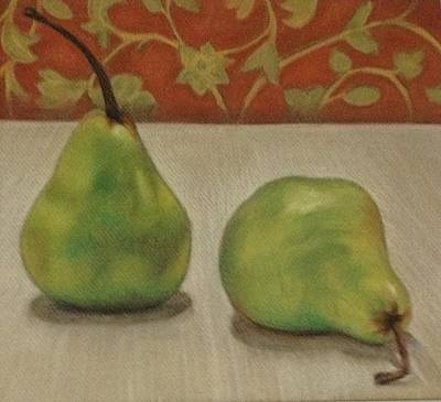 Kids Alphabet - Tapestry Pears by Deanne Salter