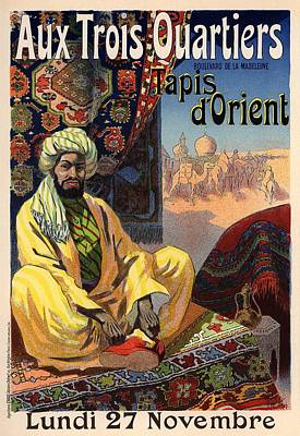 Tapis D'orient Art Print by Gianfranco Weiss