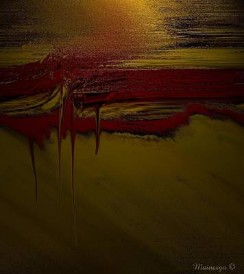 Tapiz-2 Art Print by Ines Garay-Colomba