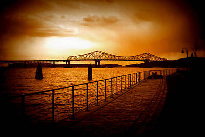 Tappan Zee Bridge Art Print