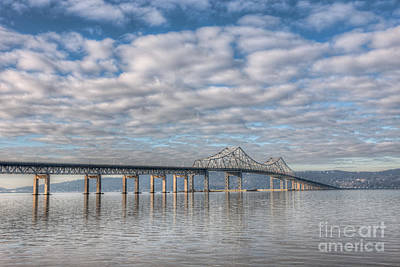 Photograph - Tappan Zee Bridge I by Clarence Holmes