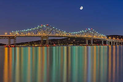 Tappan Zee Bridge Reflections Art Print