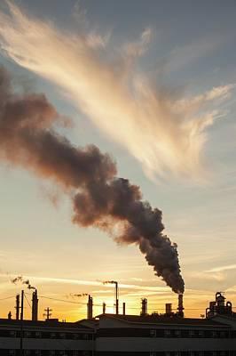 Destruction Photograph - Tar Sands Upgrader Plant Syncrude Mine by Ashley Cooper