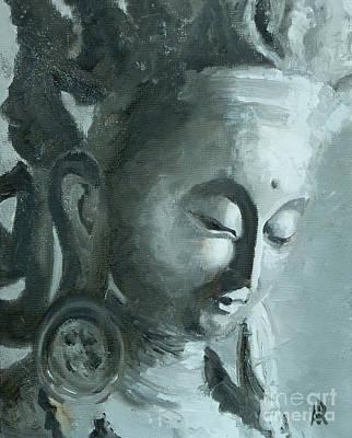 Painting - Tara In Stillness by Ann Radley
