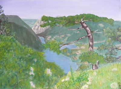 Serbia Painting - Tara Mountauin by Thomas McCaskie