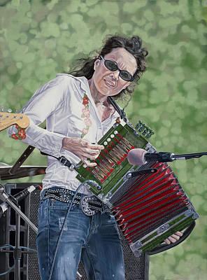 Tara Nevins Art Print by Kevin Aita