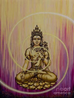 Bodhisattva Painting - Tara by Yuliya Glavnaya