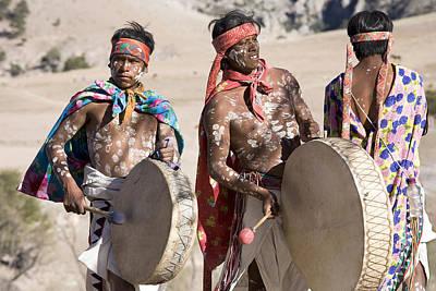 Semana Santa Wall Art - Photograph - Tarahumara  12 by Luc Novovitch