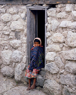 Photograph - Tarahumara Child by Erik Poppke