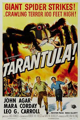 1950s Movies Digital Art - Tarantula by Georgia Fowler