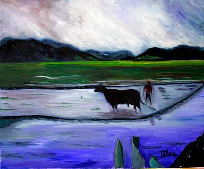 Painting - Tarapoto Peru by Pilar  Martinez-Byrne