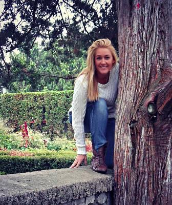 Photograph - Tara's Outdoor Adventure by Cyryn Fyrcyd