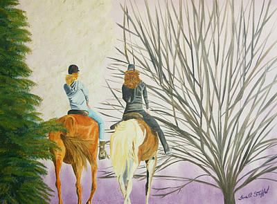 Tara's Ride Art Print by Tina Stoffel