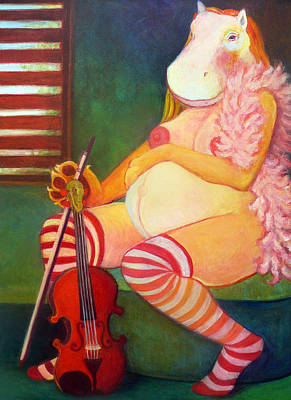 Tarawet Art Print by Deenie Wallace