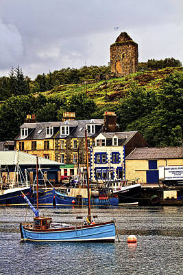 Mountain Photograph - Tarbert Castle by Marcia Colelli