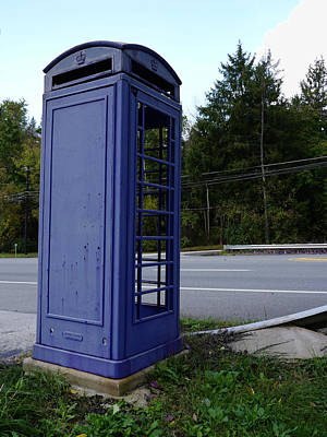 Dr Who Photograph - Tardis Envy by Richard Reeve