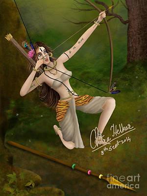 Digital Art - Target by Chitra Helkar