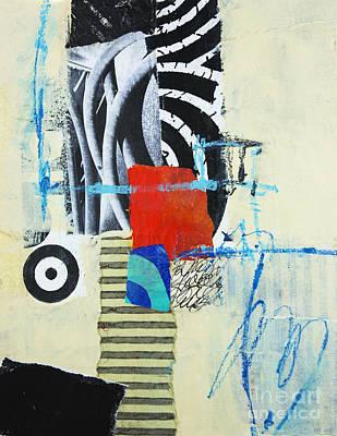 Paper Mixed Media - Target by Elena Nosyreva