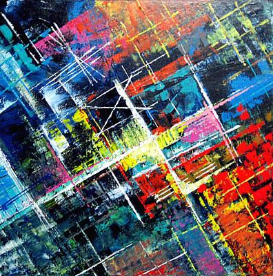 Painting - Target by Jeremy Aiyadurai