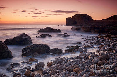 Target Rock Sunrise Print by Ray Pritchard